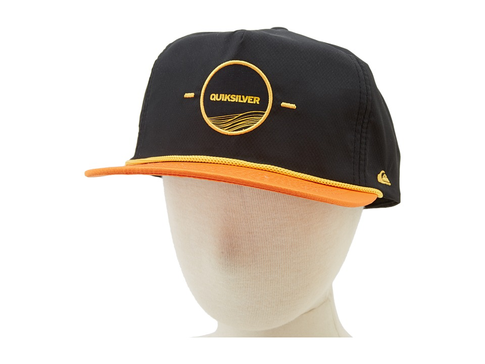 Quiksilver - Bodacious (Big Kid) (Gold Flame) Baseball Caps