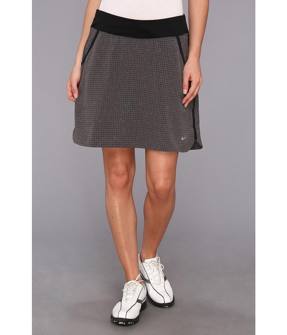 Nike Golf - Multi Dot Skort (Anthracite/Dark Base Grey/Black/Metallic Silver) Women's Skort