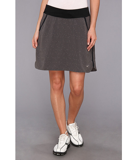 Nike Golf - Multi Dot Skort (Anthracite/Dark Base Grey/Black/Metallic Silver) Women