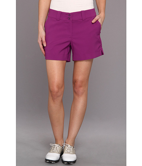 Nike Golf - Modern Rise Sporty Short (Bright Grape/Bright Grape) Women