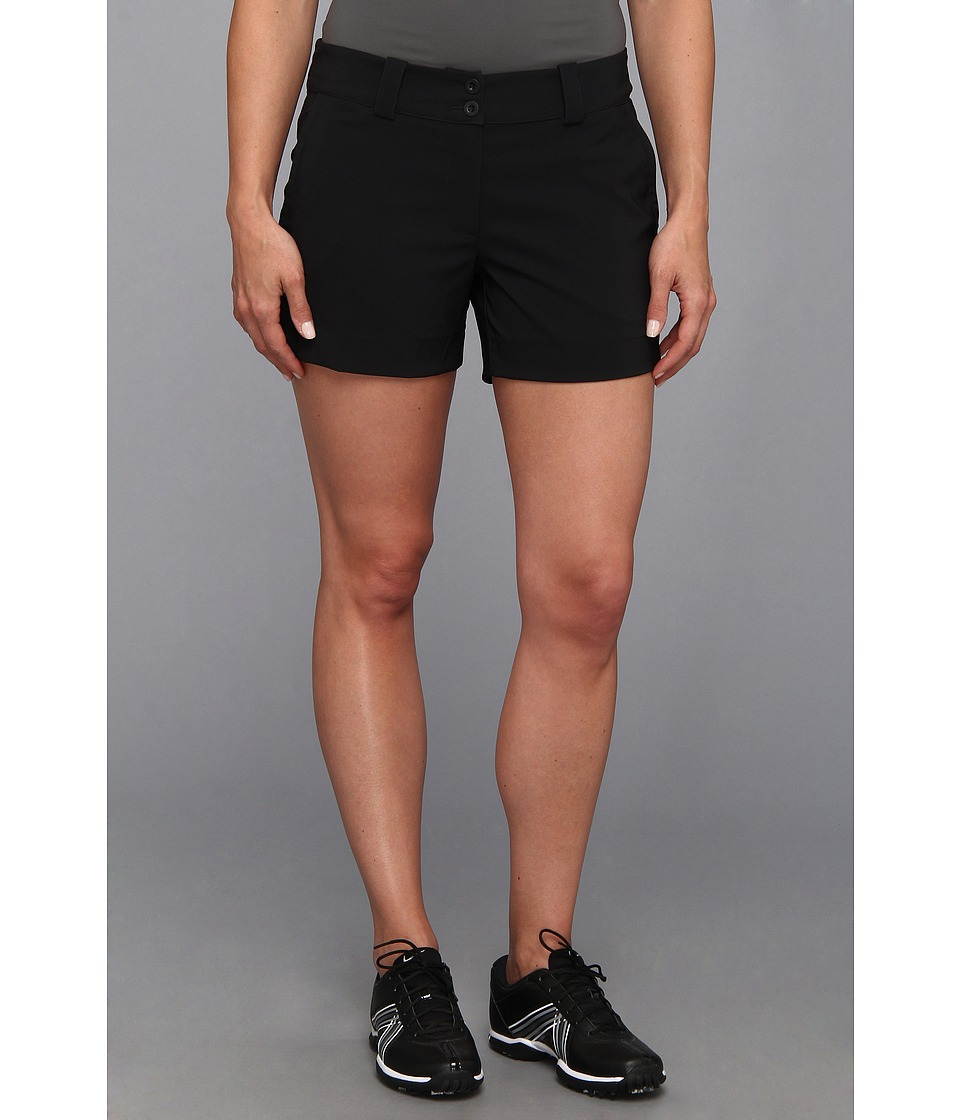 Nike Golf - Modern Rise Sporty Short (Black/Black) Women's Shorts
