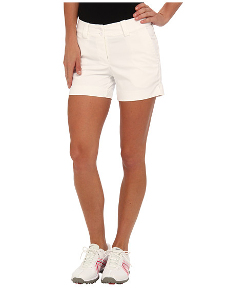 Nike Golf - Modern Rise Sporty Short (White/White) Women