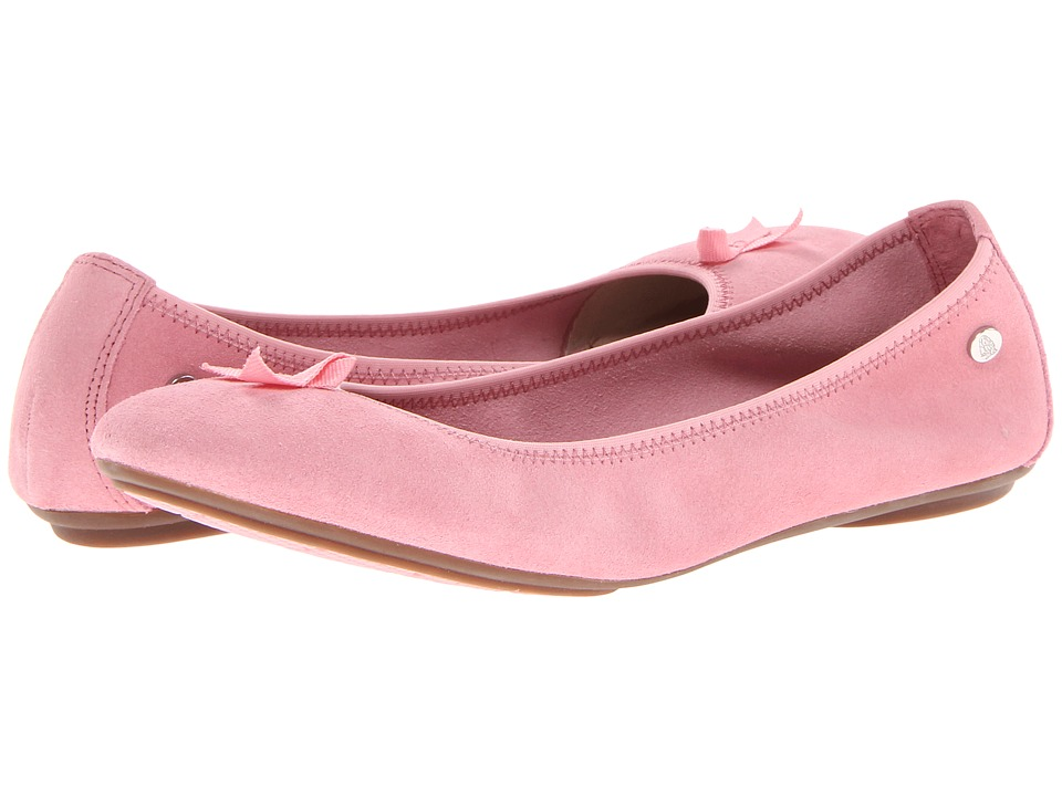 Hush Puppies - Chaste Ballet BC (Pink Suede) Women's Flat Shoes