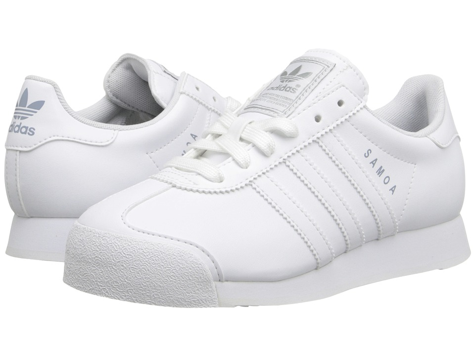 adidas Originals Kids - Samoa 2013 (Big Kid) (White/White/Silver) Kids Shoes