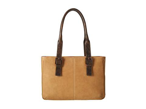 Boconi Bags and Leather Leon - E/W iPad Tote (Camel) Bags
