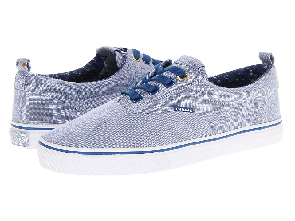 Project Canvas - Primary (Blue Washed Canvas) Skate Shoes
