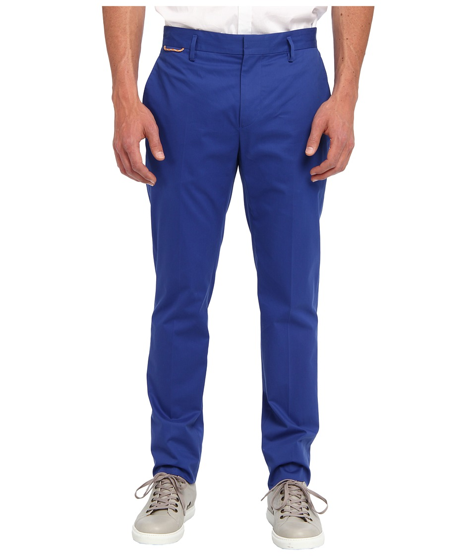 Marc Jacobs - Cotton Trouser (Cobalt/Cobalt/Academy) Men