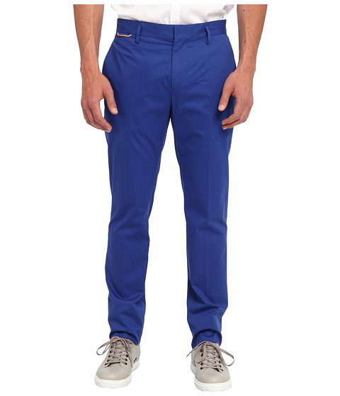 Marc Jacobs - Cotton Trouser (Cobalt/Cobalt/Academy) Men's Casual Pants