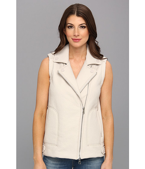 Rebecca Taylor - Sleeveless Double Faced Vest (Putty) Women