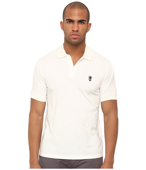 Marc Jacobs - Polo Shirt (White) Men's Short Sleeve Pullover