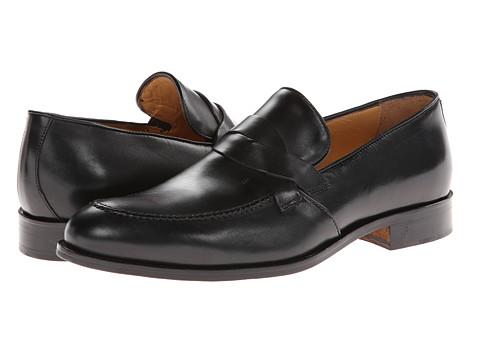 Massimo Matteo - Slip-On Woven Keeper (Black) Men