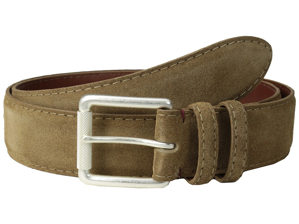 Torino Leather Co. - 38MM Italian Calf Suede (Whiskey) Men's Belts