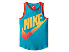 Nike Kids GFX Tank Top (Little Kids/Big Kids) (Turbo Green/Light Crimson)