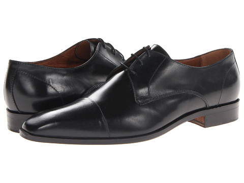 Massimo Matteo - 3-Eye Cap Toe (Black) Men