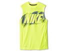 Nike Kids Hyper Speed GFX Sleeveless Top (Little Kids/Big Kids) (Volt/Midnight Fog)