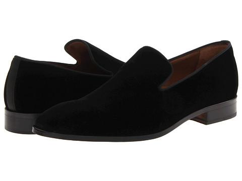 Massimo Matteo - Velvet Slip-On (Black) Men