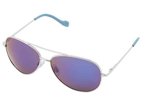 189251c9aaf 781268685740. Jessica Simpson J402 (Silver Blue Flash Lenses) Metal Frame  Fashion Sunglasses