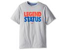 Nike Kids Legend Status Takedown Tee (Little Kids/Big Kids) (Base Grey/Military Blue)