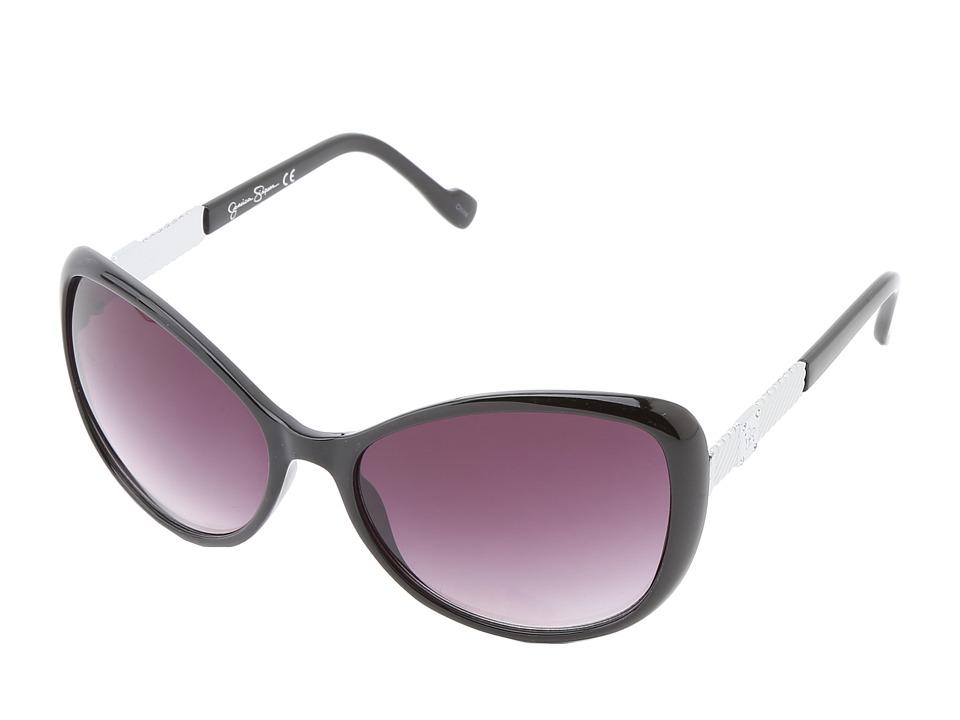 Jessica Simpson J5077 (Black) Plastic Frame Fashion Sunglasses