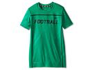 Nike Kids Field Sport Football Top (Little Kids/Big Kids) (Lucid Green)