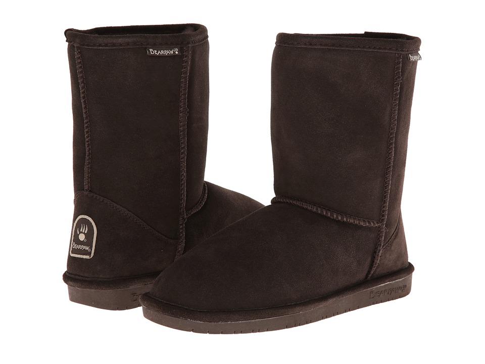 Bearpaw - Emma Short (Chocolate II) Women's Pull-on Boots