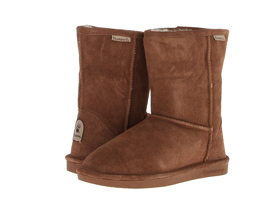 Bearpaw Emma Short (Hickory Suede) Women