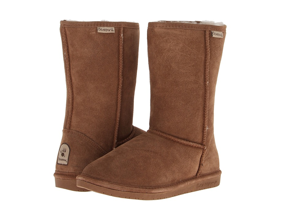 Bearpaw - Emma (Hickory Suede) Women's Pull-on Boots