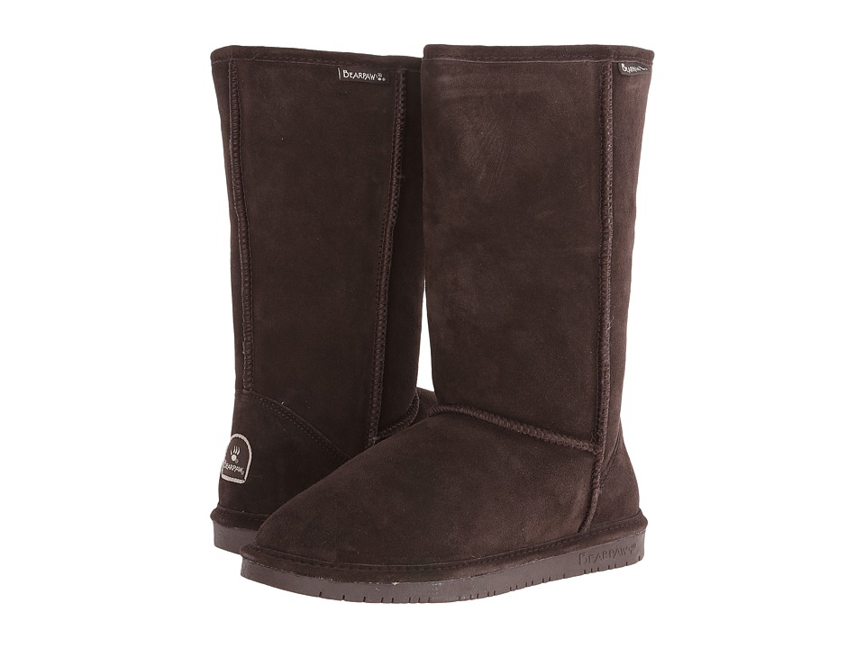Bearpaw - Emma Tall (Chocolate II) Women's Pull-on Boots