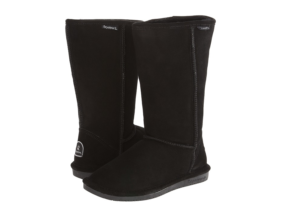 Bearpaw - Emma Tall (Black II) Women's Pull-on Boots