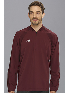 SALE! $17.99 - Save $47 on New Balance High Heat Half Zip Jacket (Team Maroon) Apparel - 72.32% OFF $65.00