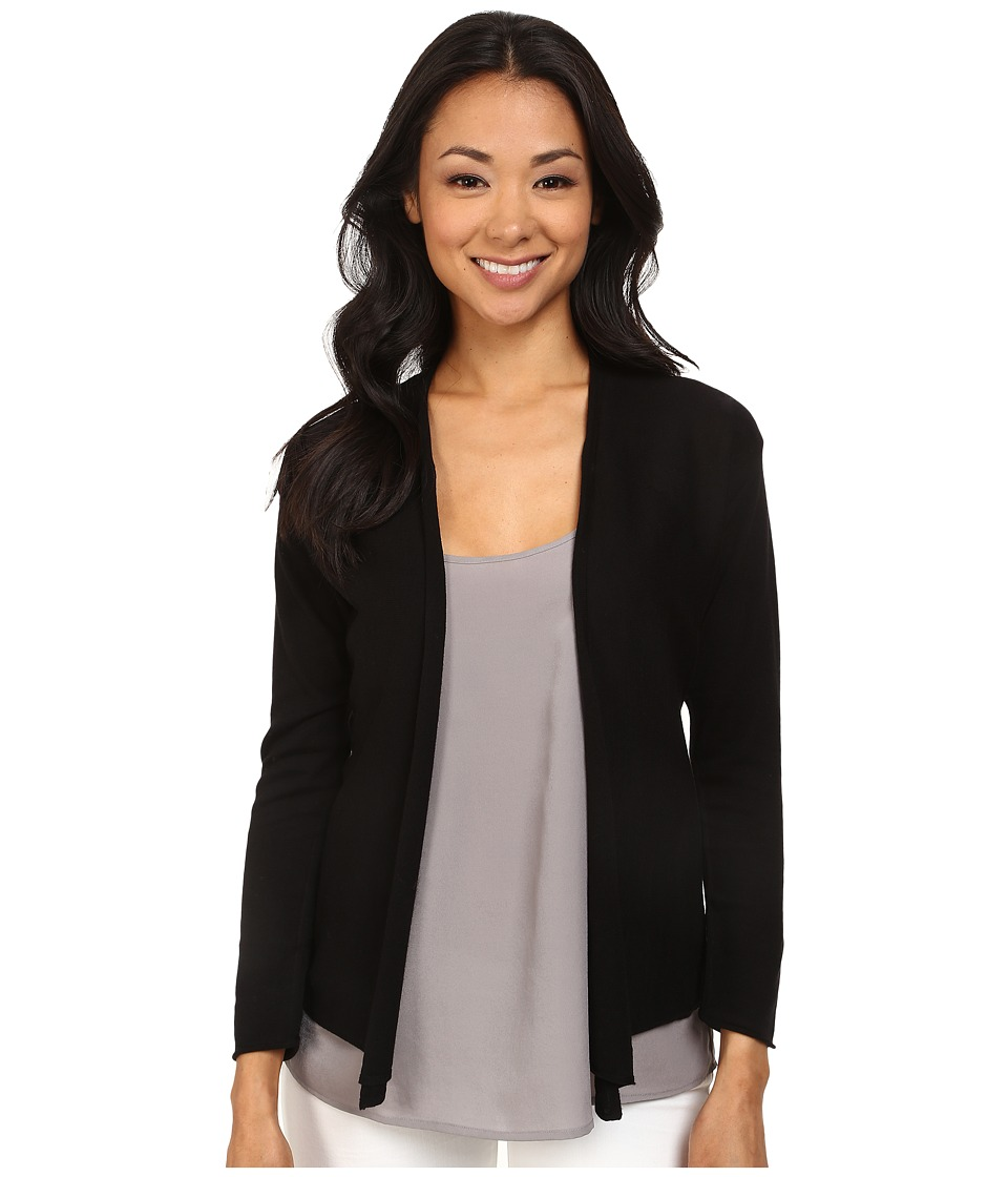NIC+ZOE - Spring Breeze Cardy (Black Onyx) Women's Sweater