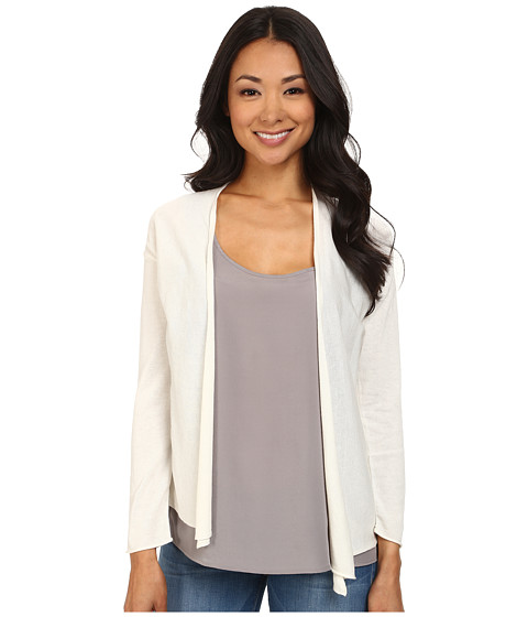 NIC+ZOE - Spring Breeze Cardy (Milk White 2) Women's Sweater