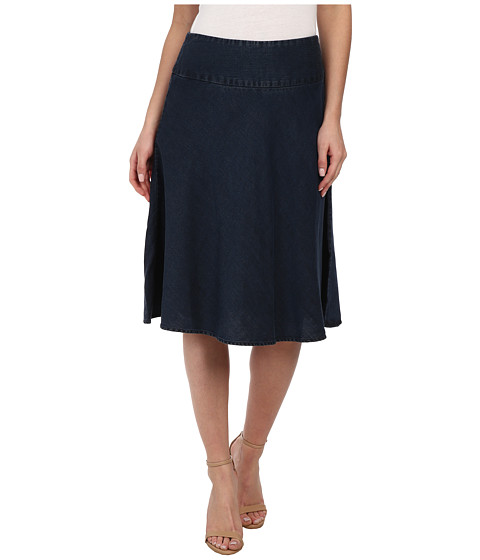 NIC+ZOE - Summer Fling Skirt (Indigo) Women