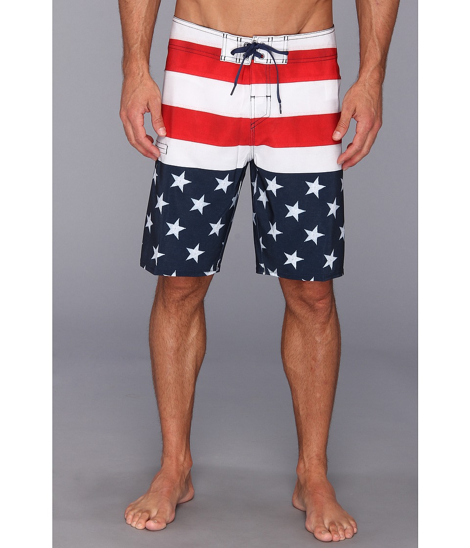 Quiksilver - Merrica Boardshort (Navy) Men's Swimwear