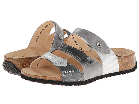 Think! - Mizzi Damen - 82369 (Grau/Kombi (Effekt Echse)) Women's Sandals