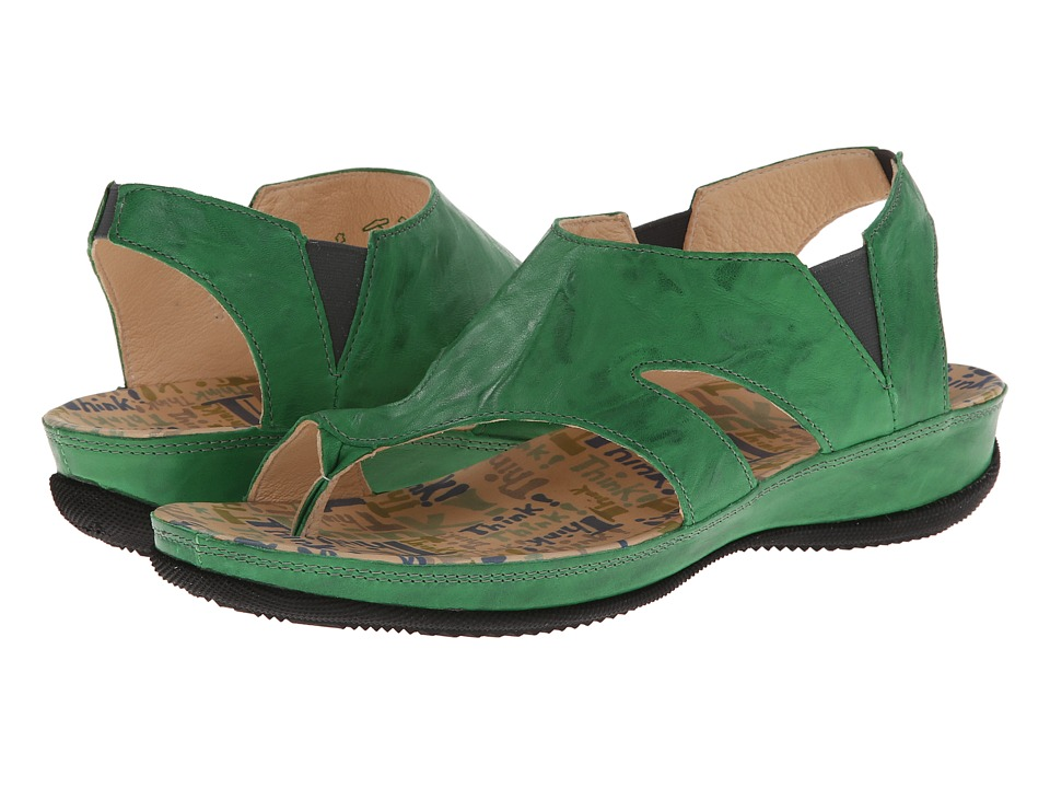 Think! - Zensi Damen - 82583 (Green/Kombi) Women's Sandals