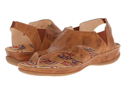 Think! - Zensi Damen - 82583 (Caramel/Kombi) Women's Sandals