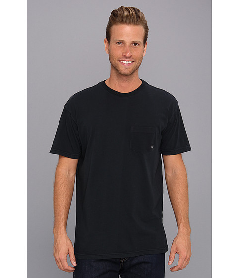 Quiksilver - Everyday Pocket Tee (Black) Men's Short Sleeve Pullover