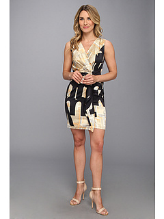 SALE! $94.99 - Save $93 on NIC ZOE Newsprint Dress (Multi) Apparel - 49.47% OFF $188.00