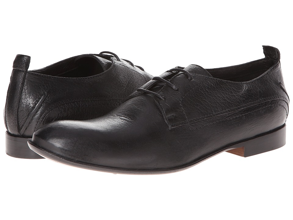 CoSTUME NATIONAL - Oxford (Black) Men's Plain Toe Shoes