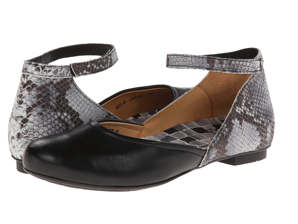Think! - Balla Damen - 82169 (Black/Kombi) Women's Flat Shoes