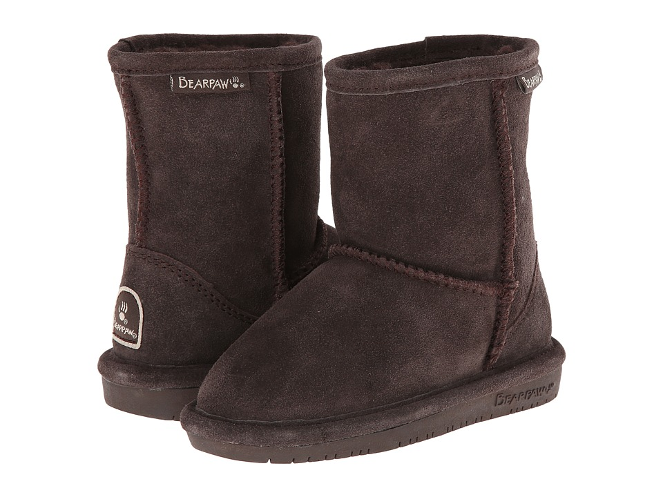 Bearpaw Kids - Emma (Toddler) (Chocolate II) Girls Shoes