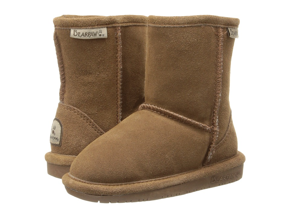 Bearpaw Kids - Emma (Toddler) (Hickory Suede) Girls Shoes