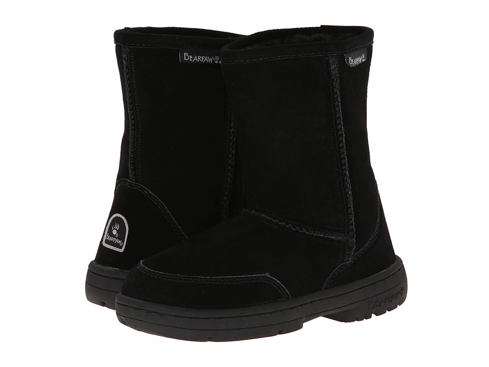 Bearpaw Kids - Meadow (Little Kid/Big Kid) (Black II) Kids Shoes