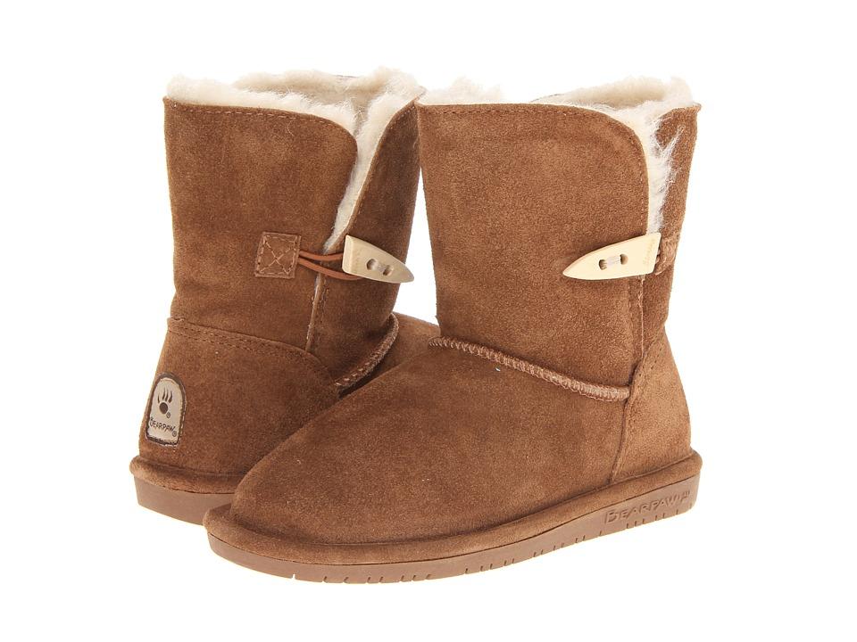 Image of Bearpaw Kids - Abigail (Little Kid/Big Kid) (Hickory II) Girls Shoes