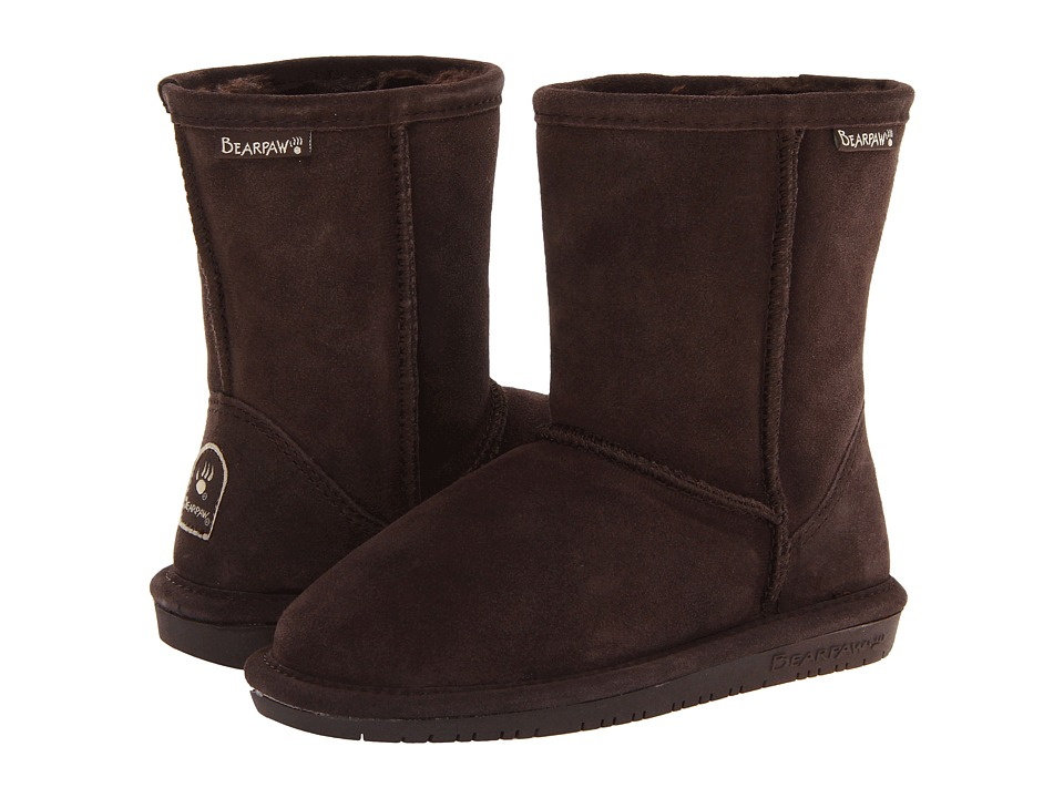 Bearpaw Kids - Emma (Little Kid/Big Kid) (Chocolate II) Girls Shoes