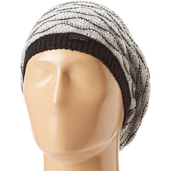 SALE! $16.99 - Save $11 on Calvin Klein Wave Stitch Beret (Black) Hats - 39.32% OFF $28.00