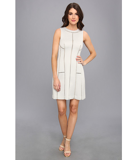 Rebecca Taylor - Structured Dress (Frost) Women's Dress