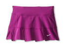 Nike Kids Maria FO Skirt (Little Kids/Big Kids) (Bright Grape/Bright Grape/Matte Silver)