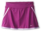 Nike Kids Power Skort (Little Kids/Big Kids) (Bright Grape/Bright Grape/Matte Silver)